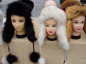 кожени шапки