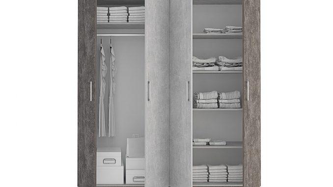 Четирикрилен гардероб