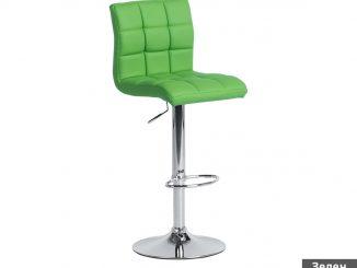 бар стол зелен